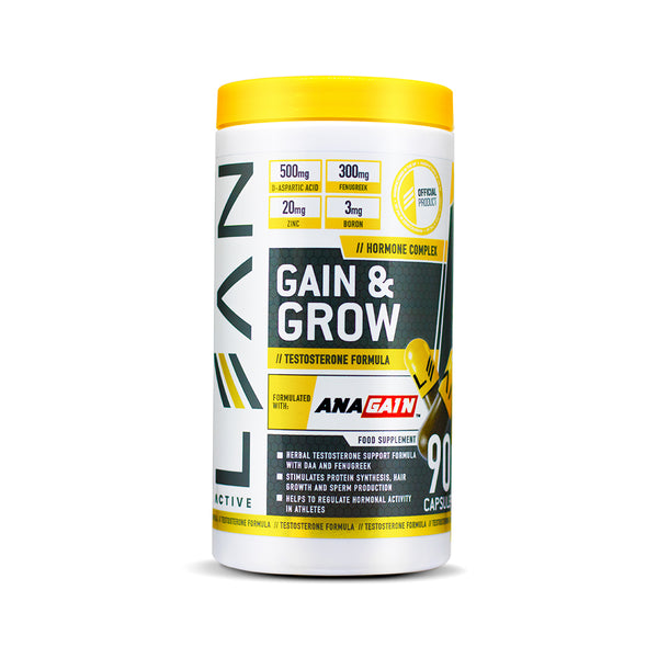 Lean Active Gain & Grow Testosterone Booster 90 Capsules
