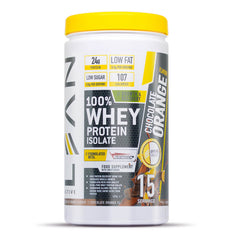 Whey protein isolate - chocolate orange