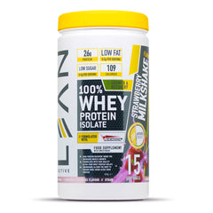 Whey protein isolate - strawberry