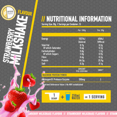 whey protein isolate strawberry