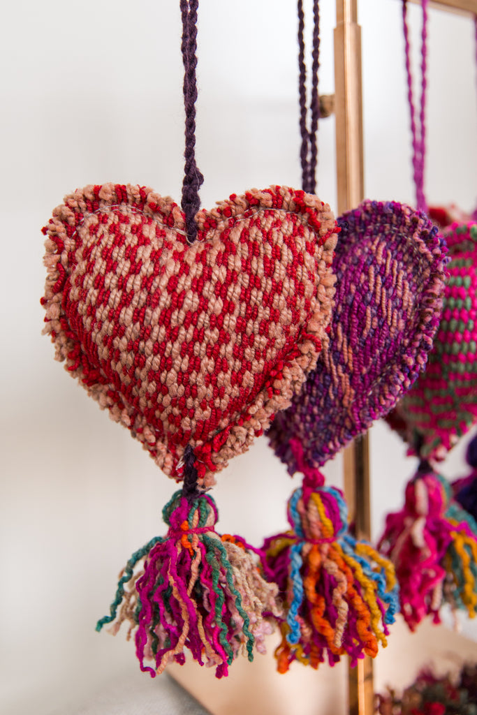Frazada Heart Ornaments (MORE COLORS)