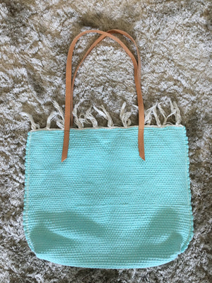 Rio Tote Bag in Spearmint Green