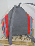 Tina Mochilla Backpack in Blues & Reds (MORE COLORS AVAILABLE)