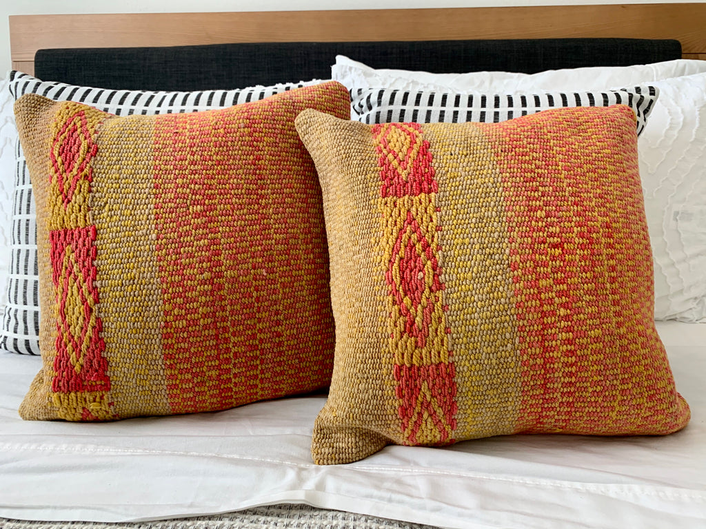 Frazada Pillow Cover in Citrus