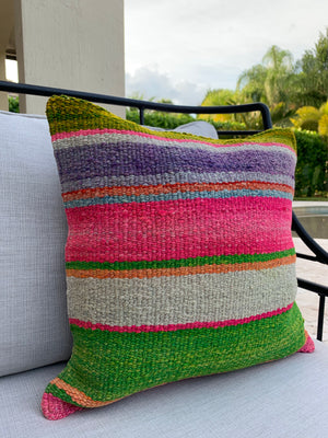 Frazada Pillow Covers in Garden Stripes (MORE COLORS)