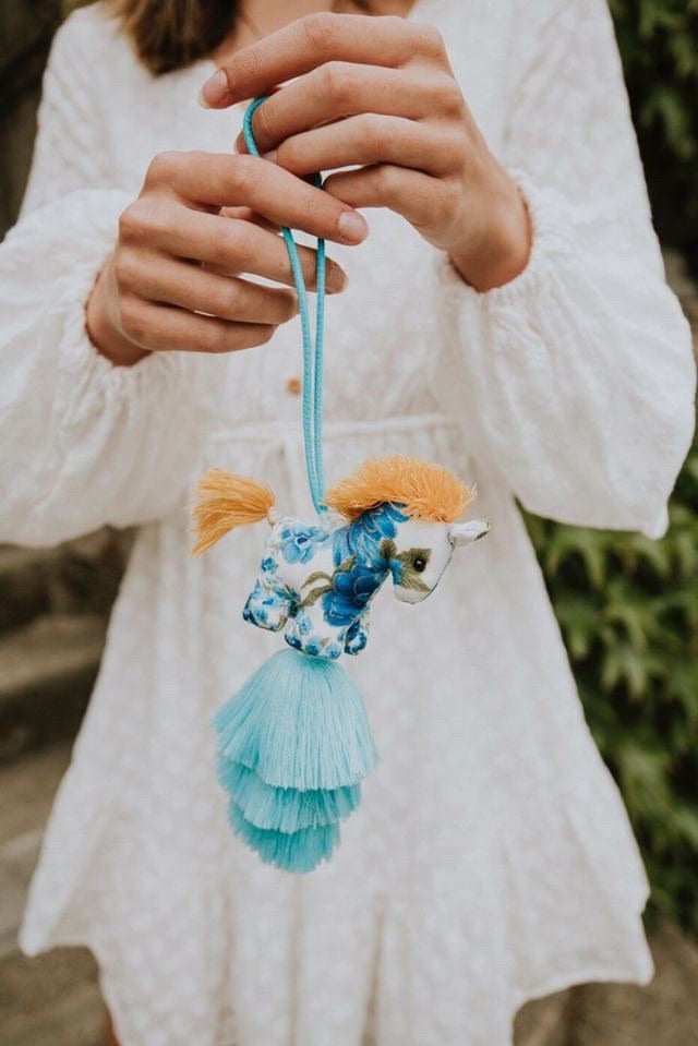 Pony Pom Tassel Ornaments