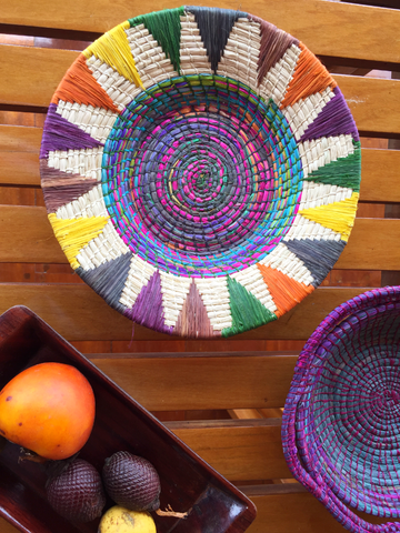 Kaleidoscope Basket Bowl (MORE COLORS)