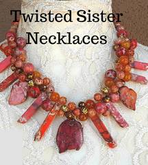 Twisted Sister Statement Necklaces