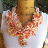 Sari Statement Necklace, Sari Ribbon, Statement Collar, Iris Apfel Wow Factor