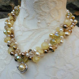 Vintage Pearl Pendant Bridal Necklace - Unique Wedding Jewelry - Amazing Gift