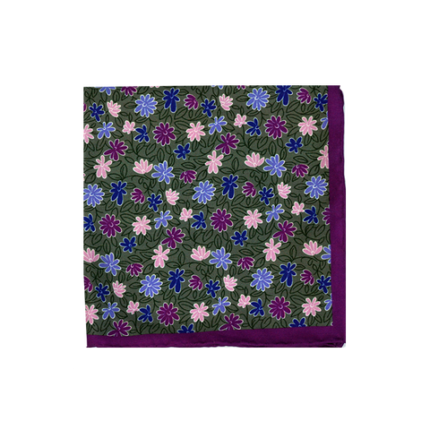 Flower Pocket Square