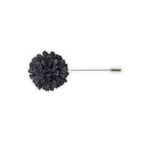 Lapel Pin (Charcoal Textured)