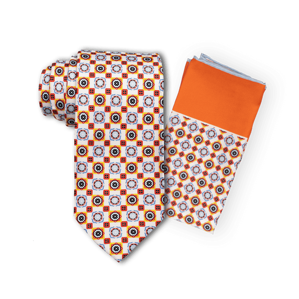 Fire and Ice Tie Set