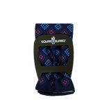 Navy Royal Diamond Square Fold Pocket Square, Silk Pocket Square
