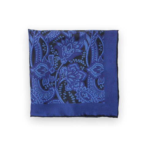 Perfectly Paisley - Blue/Purple/Black