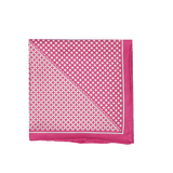 Pink Diamonds Pocket Square