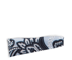 Perfectly Paisley - Black/White/Grey Pocket Square
