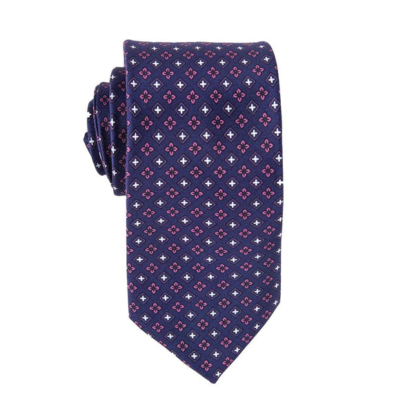 Purple Ritz Floral Tie
