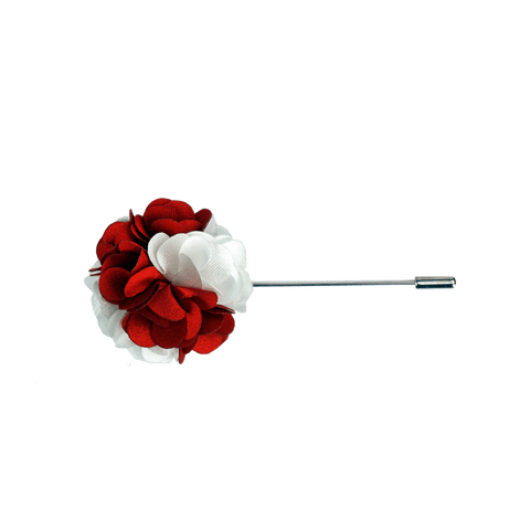 Lapel Pin (Red and White)