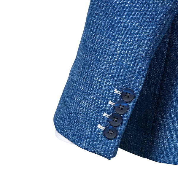 Blue Buttons Sport Coat