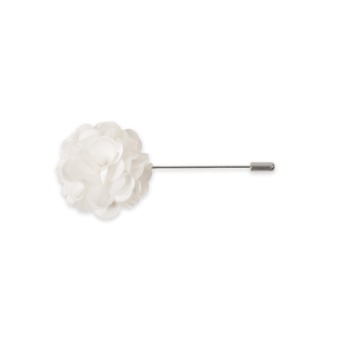 Lapel Pin (White)
