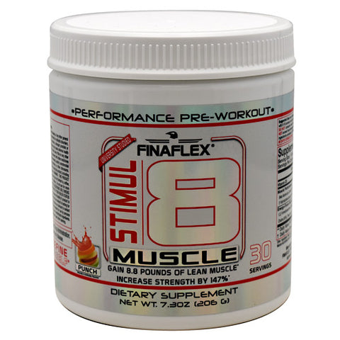 Finaflex Stimul8 Muscle - Punch - 30 Servings - 689466777260