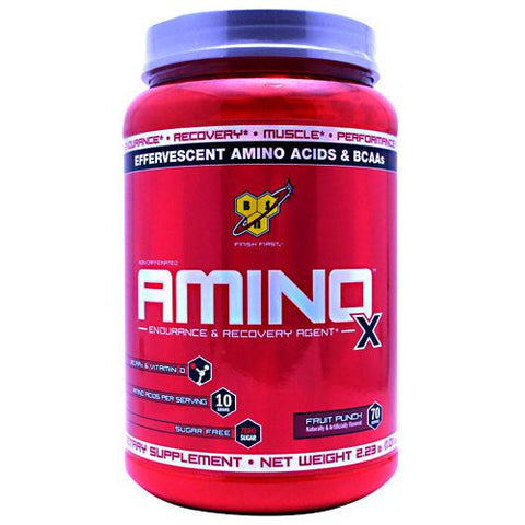 BSN Amino X - Fruit Punch - 70 Servings - 834266063307