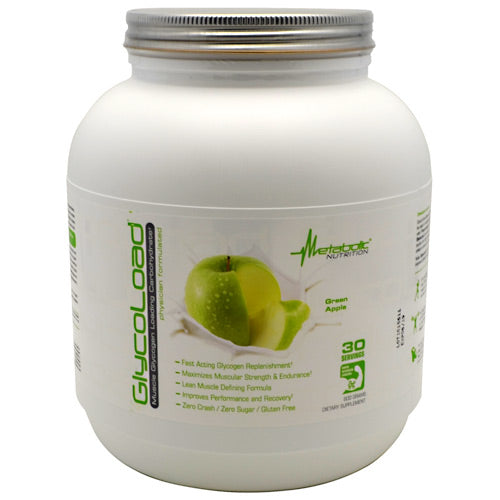 Metabolic Nutrition GlycoLoad - Green Apple - 600 g - 764779600341