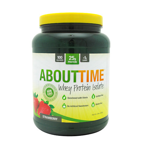 SDC Nutrition About Time - Strawberry - 2 lb - 013964575262