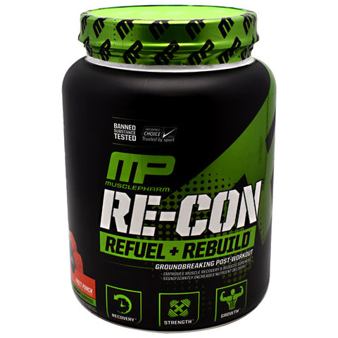 MusclePharm Sport Series Re-Con - Fruit Punch - 30 Servings - 653341412010