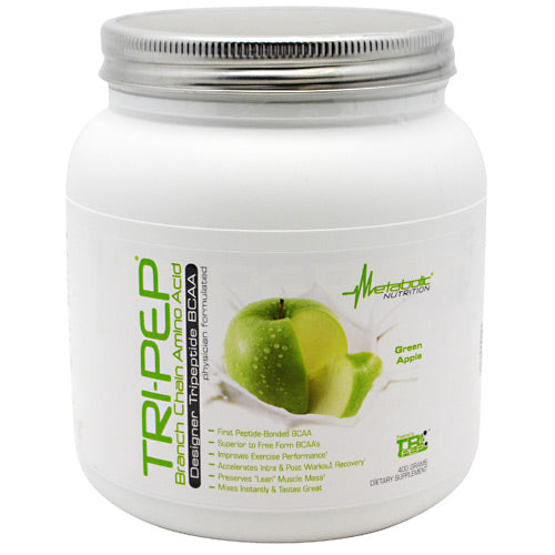 Metabolic Nutrition Tri-Pep - Green Apple - 40 Servings - 764779719975