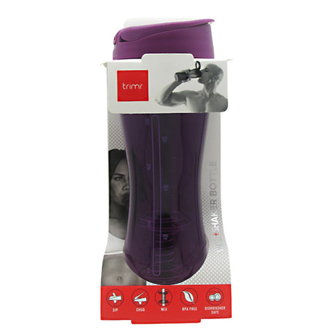 Trimr Water + Shaker Bottle - Plum - 24 oz - 819102010059