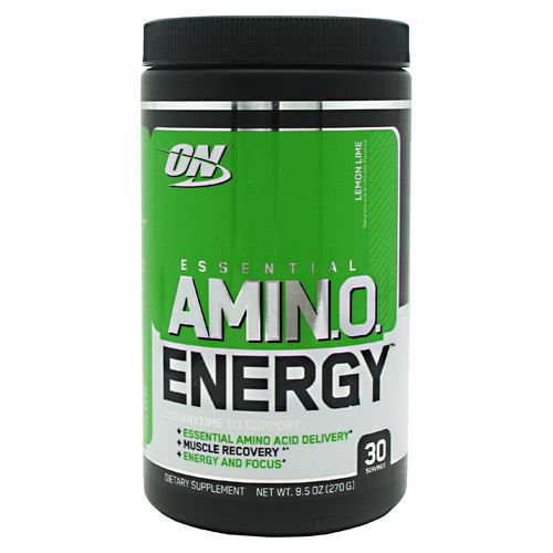 Optimum Nutrition Essential Amino Energy - Lemon Lime - 30 Servings - 748927051377