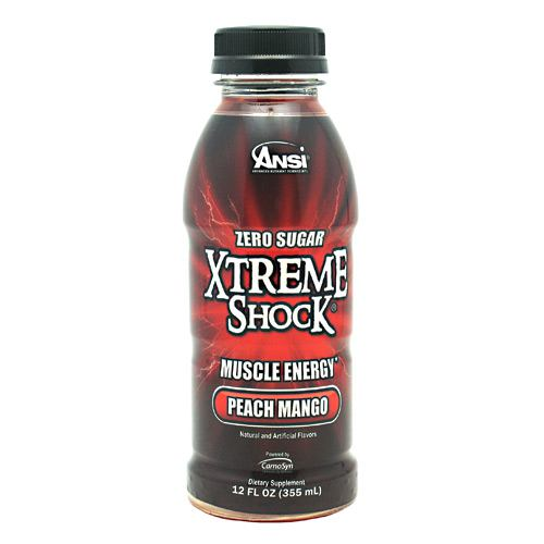 Advance Nutrient Science Xtreme Shock - Peach Mango - 12 Bottles - 689570407374