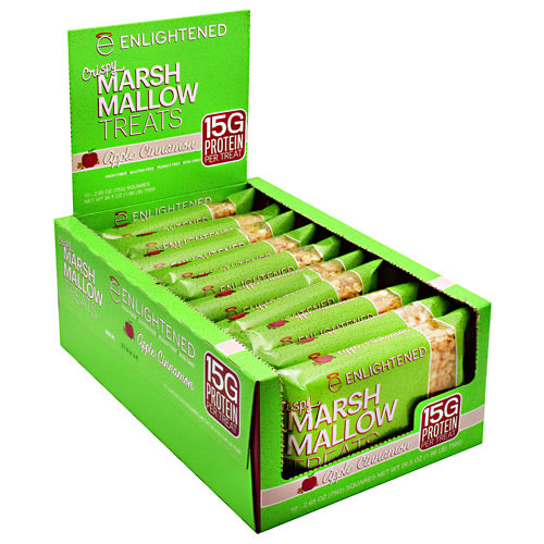 Beyond Better Foods Enlightened Crispy Marshmallow Treats - Apple Cinnamon - 10 ea - 852109004713