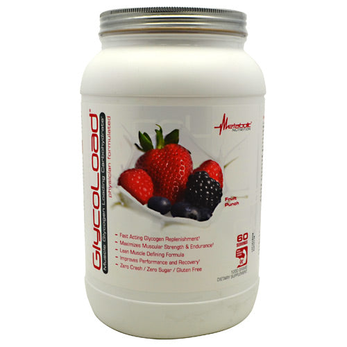 Metabolic Nutrition GlycoLoad - Fruit Punch - 1200 g - 764779120023