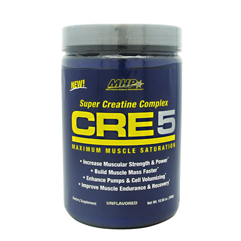 MHP Super Creatine Complex CRE5 - Unflavored - 60 Servings - 666222094588