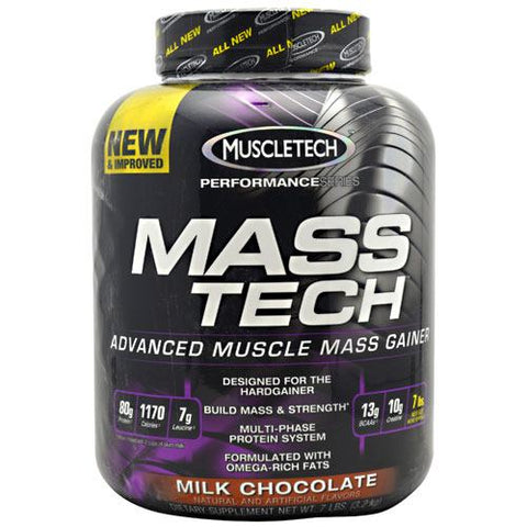 MuscleTech Performance Series Mass Tech - Milk Chocolate - 7 lb - 631656703153