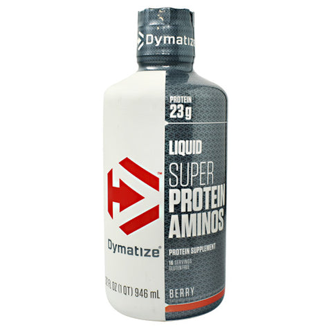 Dymatize Liquid Super Protein Aminos - Berry - 32 fl oz - 705016381326
