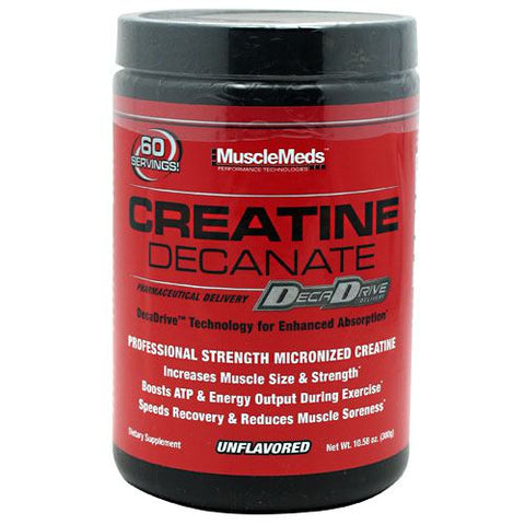 Muscle Meds Creatine Decanate - Unflavored - 10.58 oz - 891597002603