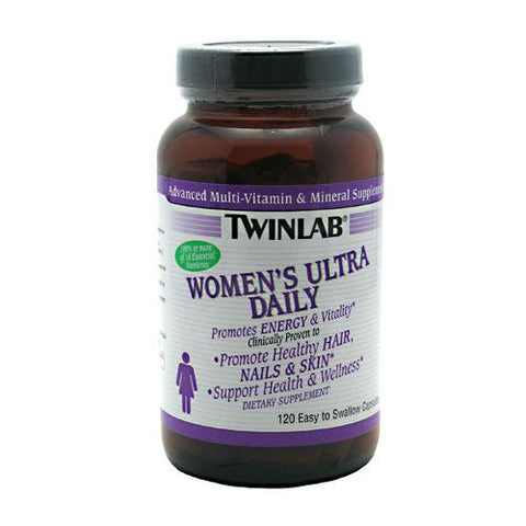 TwinLab Womens Ultra Daily - 120 Capsules - 027434030526