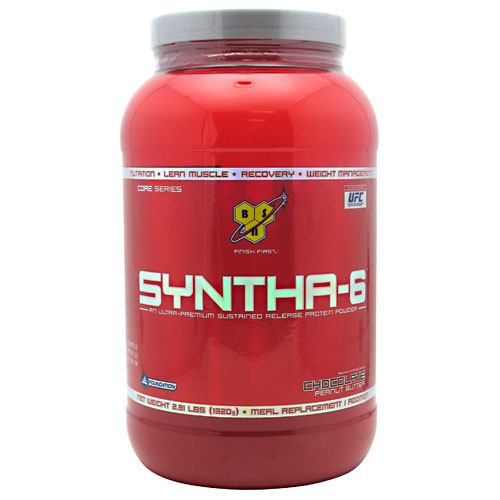 BSN Syntha-6 - Chocolate Peanut Butter - 2.91 lb - 834266006458