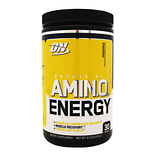 Optimum Nutrition Essential Amino Energy - Pineapple - 30 Servings - 748927053869