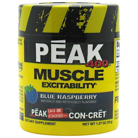 Con-Cret Peak 400 - Blue Raspberry - 30 Servings - 682676732302