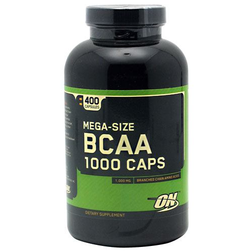 Optimum Nutrition BCAA 1000 - 400 Capsules - 748927020366