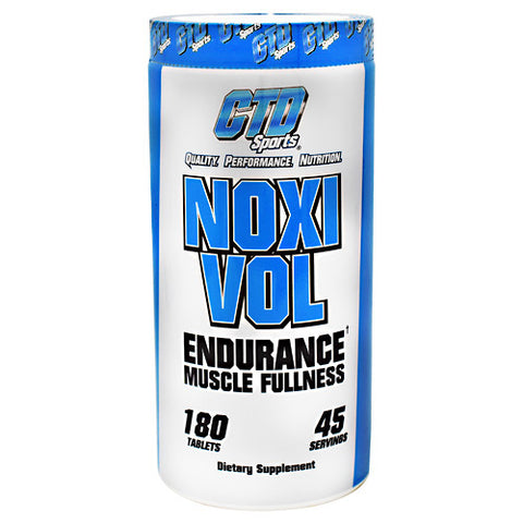 CTD Sports Noxivol - 180 Tablets - 094922889966