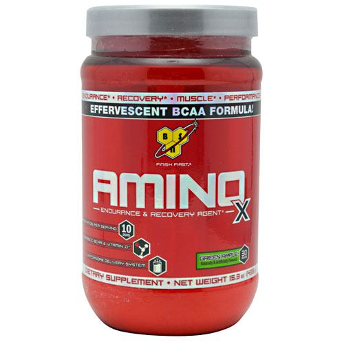 BSN Amino X - Green Apple - 30 Servings - 834266003280