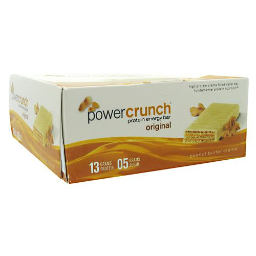 BNRG Power Crunch - Peanut Butter Creme - 12 ea - 644225722790