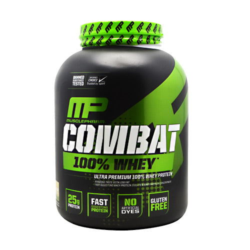 MusclePharm Sport Series Combat 100% Whey - Cookies N Cream - 5 lb - 019962715426