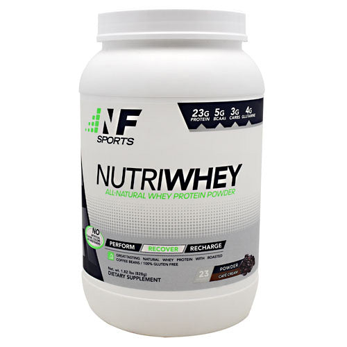 NF Sports NutriWhey - Cafe Cream - 23 Servings - 850666007086